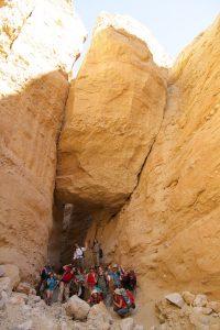 Big Chockstone Domelands Canyon