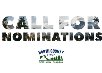 Call for Nominations: North County Group Executive Committee