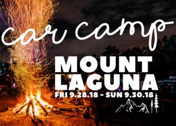 Mount Laguna Car Camp