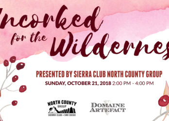Uncorked for the Wilderness, Wine Down With the Sierra Club