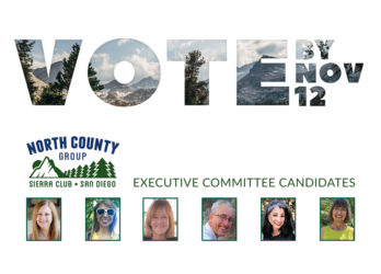 Vote: North County Group Executive Committee