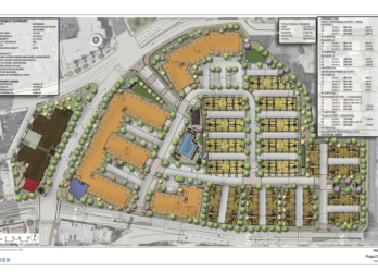 Palomar Heights proposal site plan